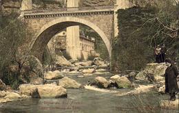 D06   Usine Électrique Du Loup  ...... Le Pont Du Loup  .... Colorisée - France