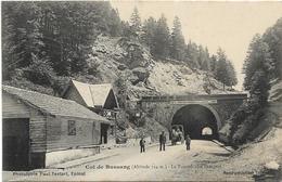 COL DE BUSSANG / LE TUNNEL COTE FRANCAIS - Col De Bussang