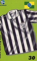 TARJETA TELEFONICA DE BRASIL (FUTBOL, CEARÁ SPORTING CLUB, HINO, 08/2000). (485) - Brasil