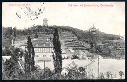 B5561 - Lößnitz Oberlößnitz - Spitzhaus Mit Bismarckturm - Feldpost 1. WK WW - Paul Frost Niederlössnitz - Loessnitz
