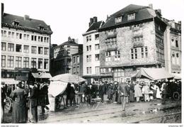 LIEGE - BATTE -  Quai De La GOFFE / MEUSE - Marché - Vieille Maison Havart - Animation - Photo 16 / 11- Jacoby - Luik