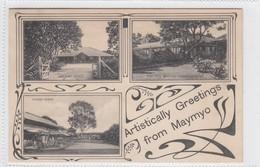 Artistically Greetings From Maymyo - Myanmar (Burma)