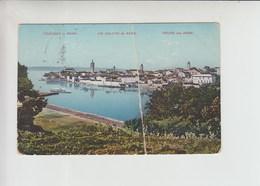 Gruss Aus Arbe, Rab Used 1914 Postcard (st422) DAMAGED But Still Rare! - Croatia