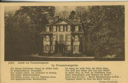 Jena V. 1930  Ansicht Vom Prinzessinnengarten  (53871) - Jena