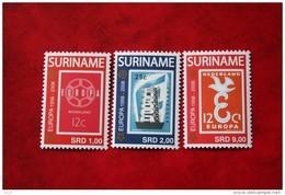 Surinam / Suriname 2006 50 Jaar Europa Stamps (ZBL 1358-1360) POSTFRIS / MNH ** - Surinam