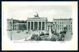 B5564 - Präge Litho - Berlin - Brandenburger Tor Und Pariser Platz - Stengel & Co - Reliefkarte - Mitte