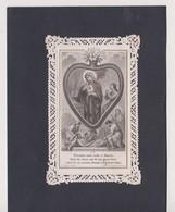 CANIVET - HOLY CARD - IMAGES DENTELLES -  1883 ?... ..( TURGIS - PARIS N° 570 )..  Lot 8 - Devotieprenten