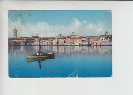 Arbe Rab Used 1913 Postcard (st426) Steam Ship Steamer - Croatia