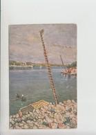 Arbe Rab Used 1924 Artist Signed Postcard (st429) - Croatia