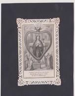 CANIVET - HOLY CARD - IMAGES DENTELLES -  .. ..( TURGIS - PARIS N° 570 )..  Lot 9 - Santini