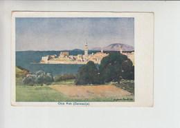 Arbe Rab Used 1926 Artist Signed Postcard (st430) - Croatia