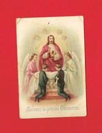 Image Religieuse & Pieuse  ... Communion  BURES SUR DIVES Calvados - Images Religieuses
