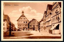 B5567 - Grünberg - Markt - W. Seim - Gruenberg