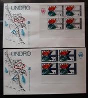 NACIONES UNIDAS NEW YORK.1979 U.N. Disaster Relief Co-ordinator  FDC. - New York -  VN Hauptquartier