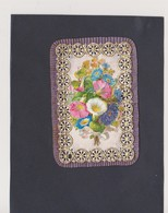CANIVET - HOLY CARD - IMAGES DENTELLES -   FLEURS.. ..lot 11 - Santini
