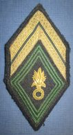 Losange Sous Officier Legion - Ecussons Tissu