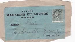 ETIQUETA DE PAQUETE FRONT PACKAGE. GRANS MAGASINS DU LOUVRE CIRCA 1930's - BLEUP - France
