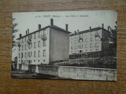 Carte Assez Rare , Thizy , Les Cités à Sabatin - Thizy