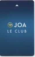Carte De Membre Casino : JOA LE CLUB Accompagnée Par Brochure - Casino Cards