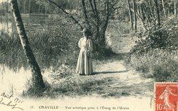 Chaville Vue Artistique Prise à L'etang De L'ursine - Chaville