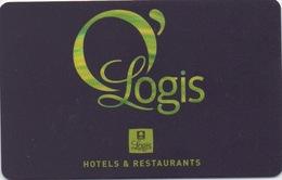 Carte De Fidélité : O'Logis Hotels & Restaurants - Hotel Keycards