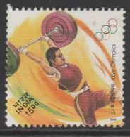 India 2000 Olympic Games, Sydney 15.00 R Multicoloured SW 1784 O Used - India