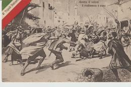 460-Tripoli-Libia-Africa-ex Colonie Italiane-Militaria-Guerra Italo-Turca-Il Tradimento Degli Arabi X Estero-Olanda - Libya