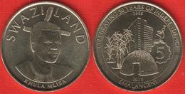 "Swaziland 5 Emalangeni 2018 ""Golden Jubilee, Independence"" UNC - Swaziland"