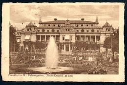B5582 - Frankfurt Am Main - Palmgarten Photokunstblatt - Hermann Knoeckel - Frankfurt A. Main