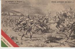 462-Tripoli-Libia-Africa-ex Colonie Italiane-Militaria-Guerra Italo-Turca-Battaglia Di Bengasi X Estero-Olanda - Libië