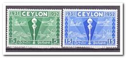 Ceylon 1952, Postfris MNH, Colombo Plan Exhibition - Sri Lanka (Ceylon) (1948-...)