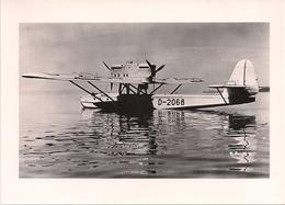 Aviation - Hydravion Dornier Wal - 1934 - Aviation