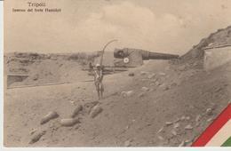 467-Tripoli-Libia-Africa-ex Colonie Italiane-Militaria-Guerra Italo-Turca-Interno Del Forte Hamidyè X Asolo-Treviso - Libya