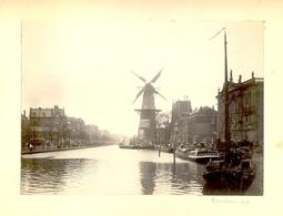 MOULIN A ROTTERDAM EN 1898 ET LE BOIS DE LA CAMBRE A BRUXELLES MARS 1898 - Photos