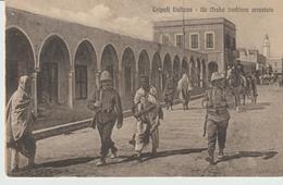468-Tripoli-Libia-Africa-ex Colonie Italiane-Militaria-Guerra Italo-Turca-Un Arabo Traditore Arrestato-v. X Montecassino - Libya