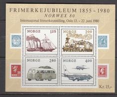 Norway MNH Michel Nr Block 3 From 1980 / Catw 4.00 EUR - Blokken & Velletjes
