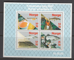 Norway MNH Michel Nr Block 8 From 1987 / Catw 8.00 EUR - Blokken & Velletjes