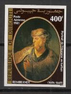Djibouti - 1981 - PA N°Yv. 153 - Painting / Rembrandt - Non Dentelé / Imperf. - Neuf Luxe ** / MNH / Postfrisch - Djibouti (1977-...)