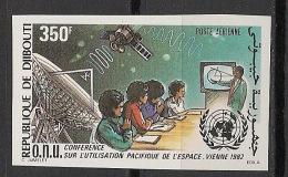 Djibouti - 1982 - PA N°Yv. 171 - Exploitation De L'espace - Non Dentelé / Imperf. - Neuf Luxe ** / MNH / Postfrisch - Space