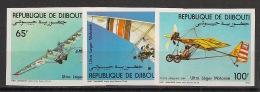 Djibouti - 1984 - PA N°Yv. 197 à 199 - ULM - Non Dentelé / Imperf. - Neuf Luxe ** / MNH / Postfrisch - Djibouti (1977-...)