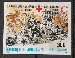 Djibouti - 1984 - PA N°Yv. 207 - Croix Rouge / Red Cross - Non Dentelé / Imperf. - Neuf Luxe ** / MNH / Postfrisch - Djibouti (1977-...)