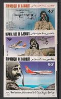 Djibouti - 1984 - PA N°Yv. 208 à 210 - Blériot - Non Dentelé / Imperf. - Neuf Luxe ** / MNH / Postfrisch - Djibouti (1977-...)