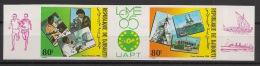 Djibouti - 1985 - PA N°Yv. 218A - Philexafrique - Non Dentelé / Imperf. - Neuf Luxe ** / MNH / Postfrisch - Djibouti (1977-...)