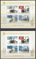 CUBA EUROPA STAMP On STAMP,CATHEDRAL, Sc 4543a PERF & IMPERF SOUVENIR SHEET MNH 2005 - Cuba