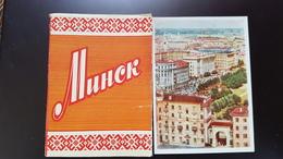 BELARUS. MINSK. Old PC. OLD USSR PC. 1959 - 12 Postcards Lot - Belarus