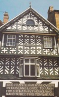 Postcard Nantwich Cheshire The Queen's House High Street My Ref  B12353 - England