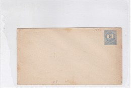ENTIER ENTERO ENVELOPE BLUE COLOR UNCIRCULATED HONGRIE CIRCA 1900's-BLEUP - Postal Stationery