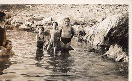 """BAIGNADE D'ENFANTS   """"LES GOUDES 1936""""   MARSEILLE - Lieux"""