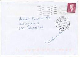 Mi 1205 Missent Solo Cover - 29 May 1999 Haderslev / Postmark - Cartas