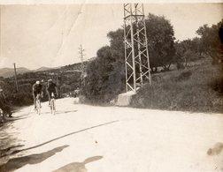 ALLAUCH 13-DERBY CYCLISTE DU MIDI 1927- MARSEILLE   LE PELOTON DE TETE DANS LA COTE- - Lieux